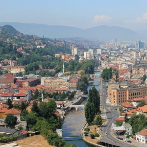 Sarajevo. Copyright: Julian Nitzsche