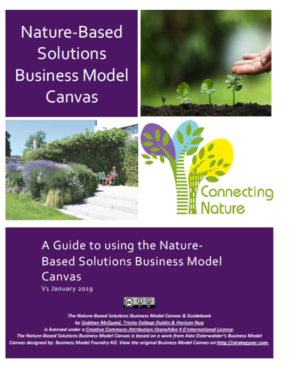Download the Nature-Based Solution Business Model Canvas and Guidebook
