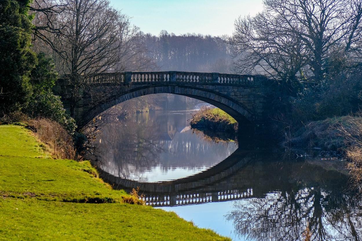"""© Pollok Country Park, Glasgow (Pixabay) by """"Daniel Manastireanu"""""""
