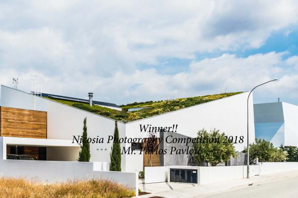 1ST PRIZE: MR PAVLOU-Green Roof With Flowers