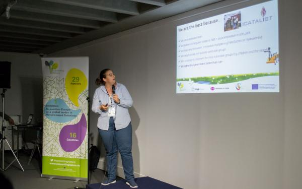 Pitch  Battle - Transforming Cities A Coruna 2018 © Julia Huertes